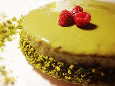 torta piana sacher green